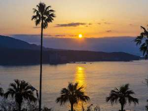 国民宿舎ボルベリアダグリ:天気のいい日は綺麗な夕焼けが見られるかも♪