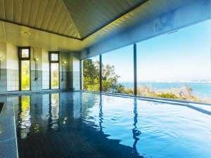国民宿舎ボルベリアダグリ:太平洋を一望する展望温泉