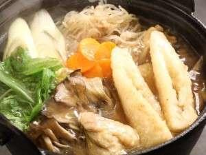駒ケ岳グランドホテル:秋田ならではの「きりたんぽ鍋」♪