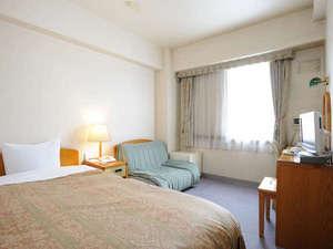 士別グランドホテル:Aシングルルーム  お気軽にご利用いただけるお部屋タイプ