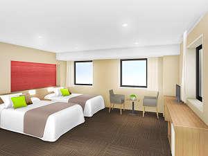 士別グランドホテル:■別館 ツインルーム イメージ図■