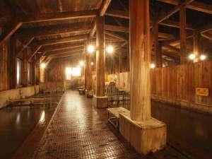 湯治のふるさと 玉川温泉 旅館部:種類豊富な浴槽は体調にお合わせてご利用いただけます!