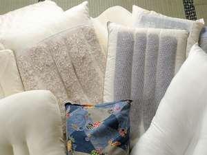板室温泉 あったか~いやど 勝風館(しょうふうかん):睡眠の大切さを考えてご用意致しました。ご自分に合った枕を探してみませんか?