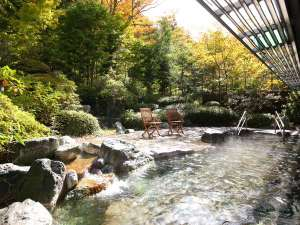 鹿教湯温泉 斎藤ホテル:露天風呂