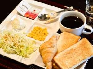 京都堀川イン:ご朝食無料サービスは「和食」「洋食」のご用意がございます。
