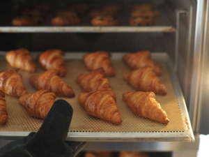 神戸プラザホテル:★ヨーロッパから直輸入の生地を毎朝丁寧に焼き上げる「焼きたてパン