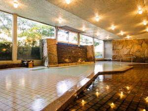 皆生温泉 三井別館:天然温泉100%の潮湯を掛け流し♪