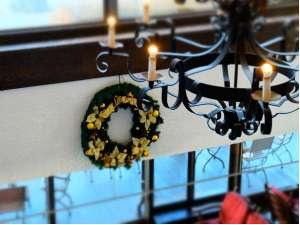 ホテルグリーンプラザ小豆島:ロビー・クリスマス