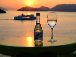 ホテルグリーンプラザ小豆島:「森國酒造」の冷酒