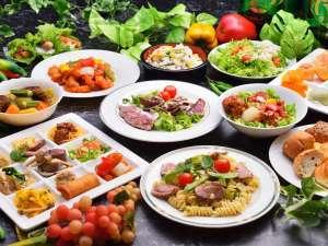 阿蘇ファームランド (阿蘇ファームヴィレッジ):【バイキング】《夕食料理イメージ》和食、洋食、中華とバラエティ豊かなバイキング