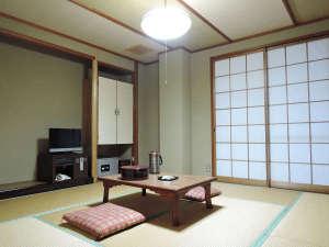 旅館さかえ:*【客室例】全室和室でとても落ち着いたお部屋となっております。