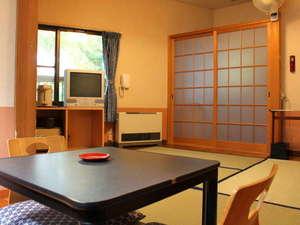 草津温泉 無料貸切風呂と料理の宿 旅館美津木:カップルに大人気!リーズナブルな和室8畳(一例)