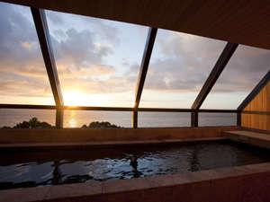 海のホテル 島花:最上階(6Fスパフロア)にある展望浴室「霑(てん)」では洲本温泉がお楽しみ頂けます