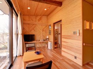 板室温泉 美肌と健康の宿 奥那須大正村 幸乃湯温泉:*VIPルーム(客室一例)/和と洋、両方の良さを味わえる客室。大人の静寂な休日をお過ごし下さい。