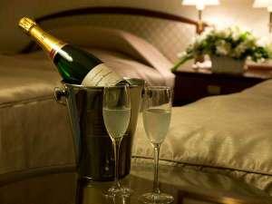 ホテルグランドパレス(HOTEL GRAND PALACE):特別な夜を演出するために…シャンパンをルームサービスでオーダーしてみてはいかがでしょうか?