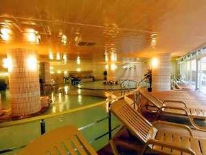 湯けむりとにごり湯の宿 霧島国際ホテル:■大浴場■良質のにごり湯には豊富な温泉成分♪