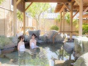 女性用露天風呂