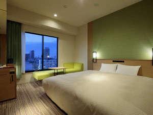 CANDEO HOTELS(カンデオホテルズ)大阪なんば:デラックスキング スーパーシティビュー
