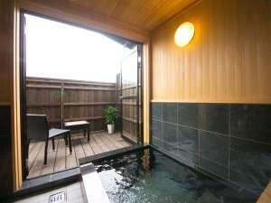 全室半露天付き客室 旅館由布山