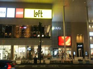 アパホテル<金沢中央>:ホテル正面「片町きらら」