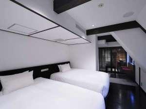 SHIBUYA HOTEL EN�i�a�J�V�e�B�z�e���j�F�Ö��ƁiW140cm�~L203cm�E2Bed�j