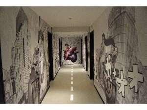 SHIBUYA HOTEL EN(渋谷ホテル エン):2F_漫画(MANGA)世界からも注目される日本の漫画やアニメーション☆美少女が渋谷の街を案内してくれます♪