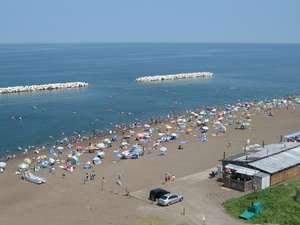 鵜の浜温泉 美味海食 汐彩の湯 みかく:鵜の浜温泉海水浴場