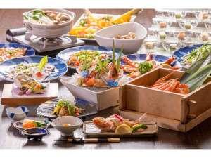鵜の浜温泉 美味海食 汐彩の湯 みかく:かまどレストランで食す新潟の味温泉蟹蒸しプラン