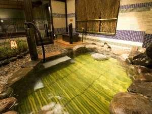 天然温泉 花蛍の湯 ドーミーインPREMIUM京都駅前:◆露天風呂
