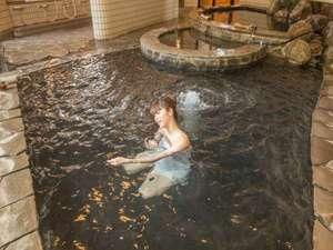 海辺の宿 つたや旅館:【女性大浴場】適度な泡が心地良くさせてくれるジャグジーです。