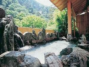 伊東園ホテル 老神山楽荘:渓谷を眺める露天風呂