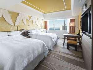 シェラトン・グランデ・トーキョーベイ・ホテル:PARK WING ルームイエロー/クリーム