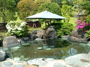 庭園露店風呂