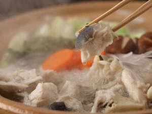 大谷山荘:【冬期限定:とらふくフルコース】山口県の冬の味覚「とらふく」三昧のご夕食。濃厚な旨味の雑炊をぜひ。
