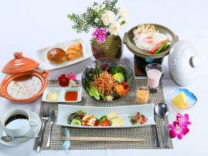 かやぶきの郷薬師温泉 旅籠:朝食(洋食)