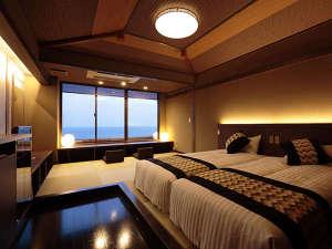 海のほてる いさば:【藍の詩】絶景の5階客室 新装「藍の詩」和ベッドタイプ