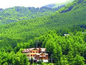 温泉山岳ホテル アンデルマット 外観