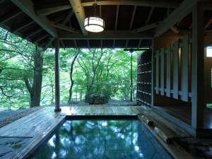 「四季の湯座敷」武蔵野別館:絶景の貸切露天風呂、隠れ湯「薫風」