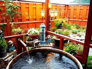 心がふれあう 民芸の宿中央ホテル:掛け流し温泉 貸切露天風呂をお楽しみ下さい