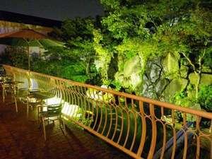 ホテル シーガル:夜のガーデン