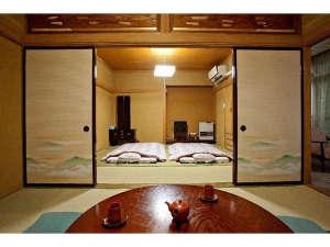 金田一温泉 仙養舘:落ち着いた雰囲気のお部屋で、ごゆっくりおくつろぎいただけます。