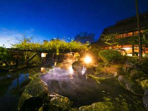 【豆富懐石 猿ヶ京ホテル】自家製豆富と源泉かけ流し大露天風呂の写真