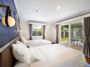 【リノベーション 48㎡/禁煙】最上級の客室 ガーデンヴィラ/客室内は、壁紙から床まで全面改装。