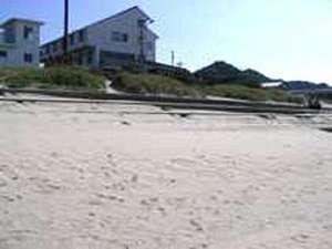 シーサイドうらどめ:宿からそのままビーチへ