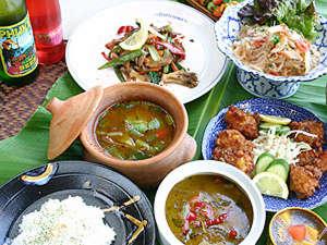 ビュウホテルセイザン:*本場タイ人のシェフが腕を揮う本格タイ料理をコースでご堪能下さい
