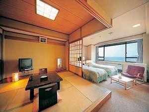 岩手宮古 ホテル近江屋:海の見える和洋室(バス・トイレ付)