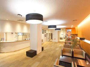 岩手宮古 ホテル近江屋:*【フロント】明るく広々としたフロントです。