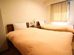 ビジネスホテル ロイヤルイン菊水:ツインルーム