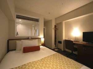 中島屋グランドホテル(旧 静岡グランドホテル中島屋):【スタンダード】広さ12㎡~セミダブルベッドで1名様からゆったりお休み頂けます。 定員1~2名