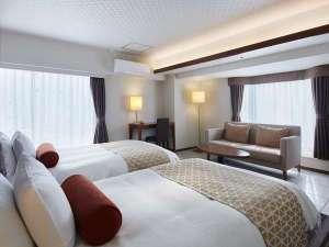 中島屋グランドホテル(旧 静岡グランドホテル中島屋):モデレートツインでゆったりと!